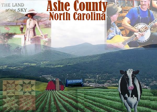 Ashe County, North Carolina, NC, High Country Blue Ridge Mountainsashe county