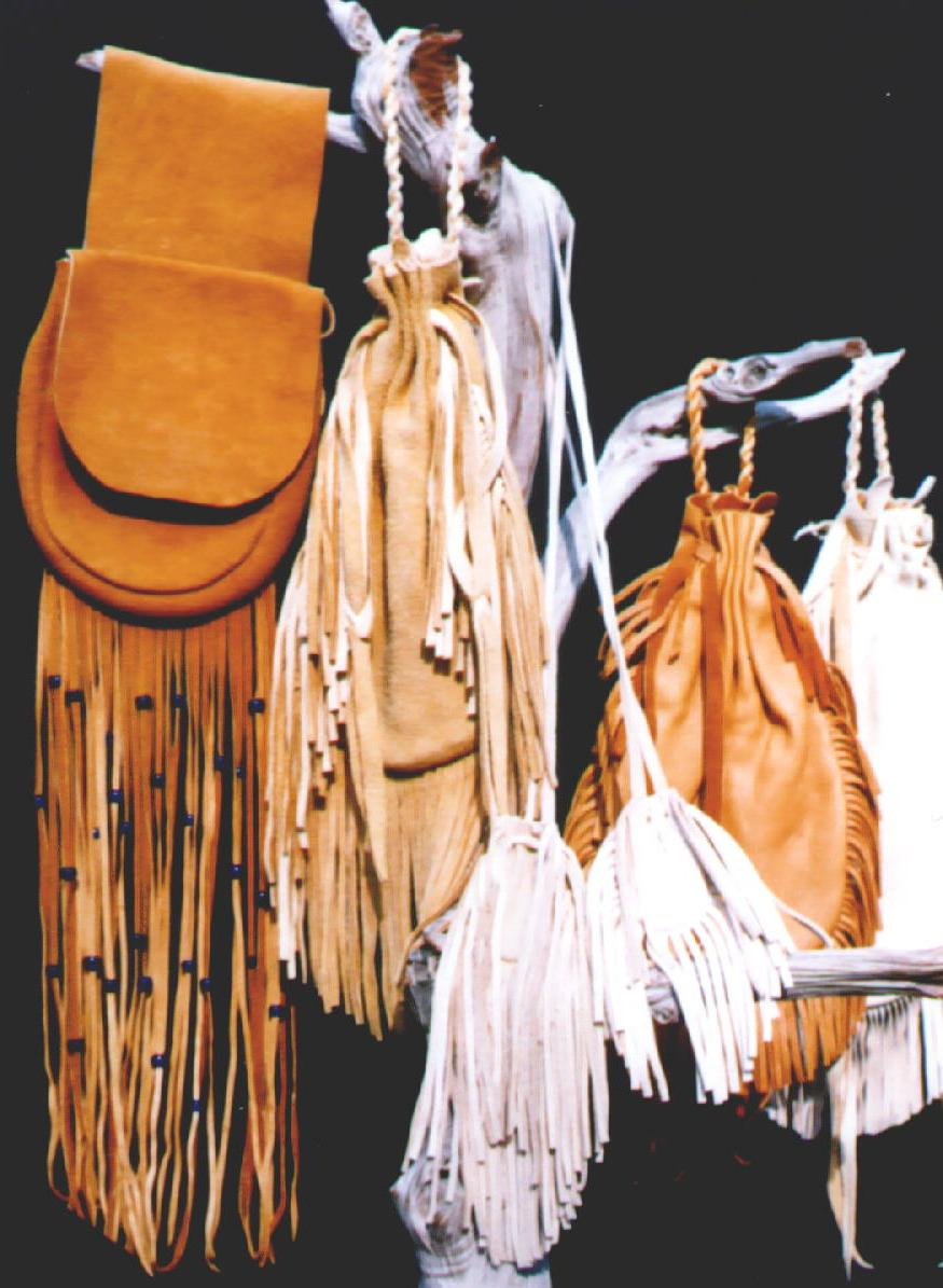 Native American Buckskin Clothing http://www.main.nc.us/openstudio/sweetwater/leather.htm